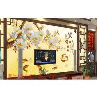四会市瓷砖背景墙生产厂家 瓷砖背景墙现代简约 背景墙加盟