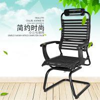 工厂特价直销写字楼办公室专用电脑椅双层弹力橡筋织带椅职员D07