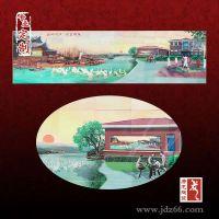 陶瓷壁画 企业文化墙陶瓷壁画定制厂家