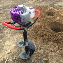 宏兴牌植树打洞机_汽油挖坑机报价_园林挖坑机型号