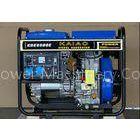 3600 rpm 5kw Open Frame Diesel Generators , Single phase Diesel Generator