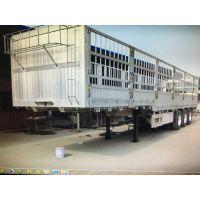 钢铝合金挂车/自重5吨/承载58吨/山东凯迪捷牌/13米*2.5米*1.8米/平板式牵引挂车