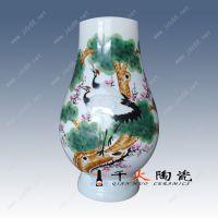 供应陶瓷家居饰品摆件批发 景德镇手绘陶瓷花瓶批发