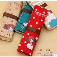 韩国款创意文具 39可爱多功能学生创意用品al 女孩笔帘笔袋