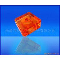 供应亚克力灯饰配件 方形透明仿水晶灯饰