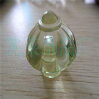 义乌批发饰品配件 30MM亚克力塑料透明半孔珠子