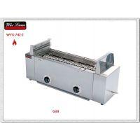 无烟烧烤机批发,唯利安WYG-742-2二头红外线燃气烧烤炉