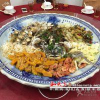 8寸大盘 陶瓷耐高温蒸鱼盘圆形大盘子海鲜盘 和艺陶瓷盘子厂家