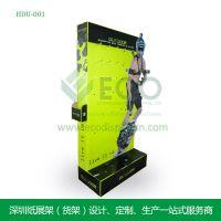 供应摄影器材黄色纸质货架 促销批发生产纸质货架 HDU-001