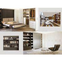 广州创意家具工厂可定制隐形床 小户型必备壁柜床超省空间