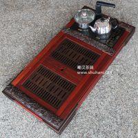 厂家批发 非洲花梨木组合茶盘 茶具套装 不带电磁炉 五龙茶盘