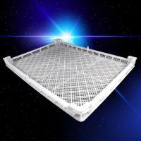 鑫鼎塑料单冻器塑料冷冻盘型号XD014海参冷藏筐全新PE料晾晒盘价格