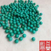 厂家直销批发 流苏珠圆珠优化绿松石直径4-10mm批发热卖 配饰 diy