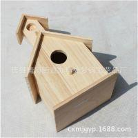 厂家直供实木原色鸟窝 zakka杂货 木雕工艺品 定制田园风格工艺品