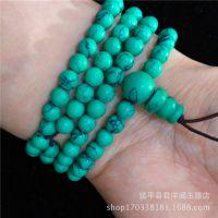 天然绿松石手链小珠 男女款 包邮