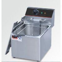 厂家直销正品/骏昇/JS-8L单缸单筛电炸炉/商用电炸锅15818810680