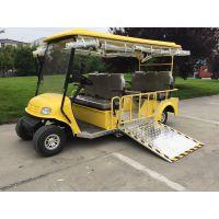 锡牛四轮电动轮椅车 4座老年代步电瓶车 电动残疾车助残车 定制改装专业厂家