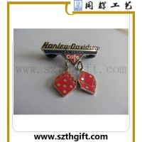 金属珐琅高品质徽章 金属高档徽章来图稿生产 同辉工艺厂