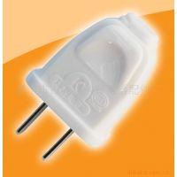 供应科豹乳白色的PC阻燃大功率两极插头/10A插只