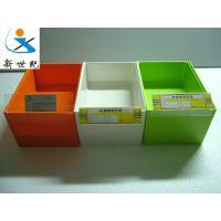 【顶】食品盒子上透明固定不会掉的三角v形标签纸塑料架放价格牌