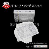烫银角扑克牌 服装公司设计扑克牌定制 广东扑克生产厂家定制扑克