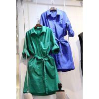 韩国东大门一手货源 女装代发韩国顺风直发 风衣 H04020881