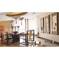 厂家直供 银之源客厅餐厅大型壁画批发 壁画壁纸公司