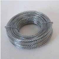 100米不锈钢铅封线 双股缠绕钢丝线 封签线 电表铅封线 铅封线2股