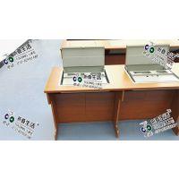 翻转电脑桌 液晶屏翻转电脑桌 多功能电脑桌 应中科技