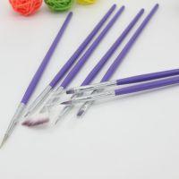 厂家直销 新款美甲笔 画花彩绘笔水晶笔套装 美甲工具批发货源