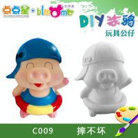 非石膏diy彩绘涂色娃娃白坯模具批发工厂定做现货批发直销C009