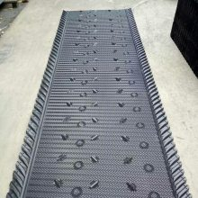 蒸发冷用的马利填料价格 北京河北生产横流塔马利淋水片 1220mm淋水填料 河北华强