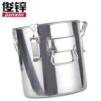 不锈钢密封桶25-55cm不锈钢多用桶1.0厚不锈钢汤桶