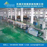 高产节能Φ200-400PE管材生产线 PE给水管/燃气管挤出机 WRS-沃锐思机械 张家港专业厂家