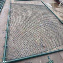 体育场防护网 勾花防撞网 包塑公路铁丝网