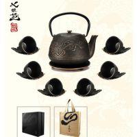 养生铸铁茶壶 纯手工打造 在煮水时释出的微量二价铁离子适合人体