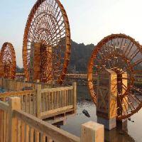 广西景观水车制作|【供销】广西专业的景观水车