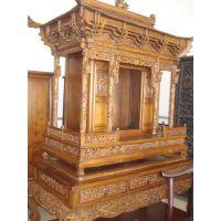 红木佛龛丨明清佛龛家具丨北京实木佛龛
