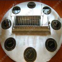 新古典风火锅电磁炉火锅桌 自助烤涮一体桌 可定做