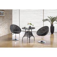 简约现代户外桌椅 仿藤桌椅 倍斯特家具提供样品定做