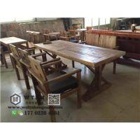 天津老门板榆木桌子 专供水货老门板榆木桌子
