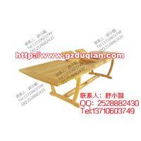 杜谦实木折叠户外酒店桌,园林桌椅,防腐木制品