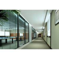 供应柳州城区双玻百叶高隔间系列,玻璃隔墙,成品办公隔断