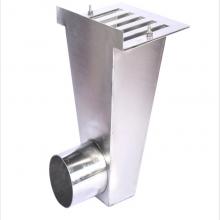 龙图品牌短管焊接雨水斗_电加热雨水斗原理