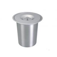 厨卫嵌入式垃圾桶 不锈钢厨房台面安装垃圾桶 隐藏式收纳桶 厂家包邮