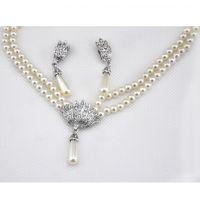 时尚新款 潮流 新娘饰品珍珠首饰无耳洞耳夹1361-135(2色)