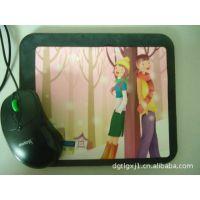 厂家直供 流行中的色彩绚丽可爱的硅胶鼠标垫彩印 卡通鼠标垫