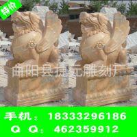 曲阳动物石雕厂家批发定制动物貔貅 厂家直销石头貔貅 貔貅雕刻