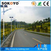 四川得荣县3米4米5米6米8米太阳能路灯道路灯户外灯高杆灯LED路灯超亮庭院灯