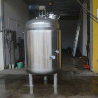 厂家供应不锈钢夹层搅拌罐 不锈钢反应釜 方联304立式搅拌罐(可定制)